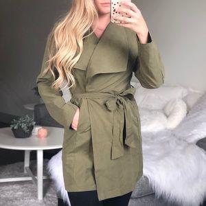 Wayward Wrap Jacket - Olive